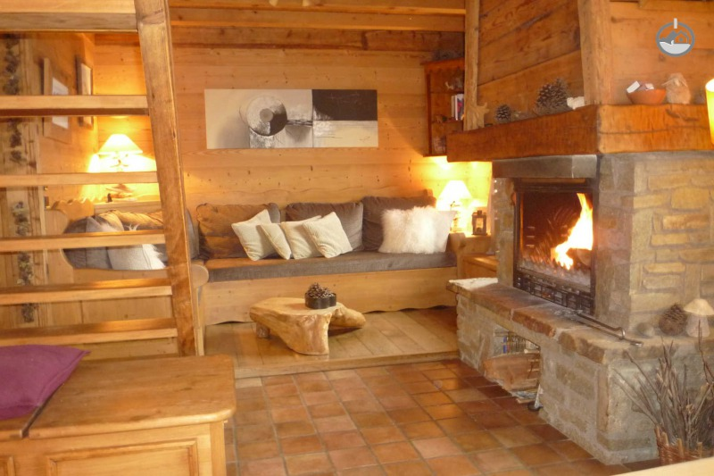 Chalet cosy proche stations, vue Mont-Blanc